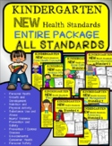 Kindergarten Health NEW 2021 ALL STANDARDS for Entire Year
