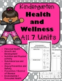 Kindergarten Health Unit for the Entire Year!! (Meets Comm