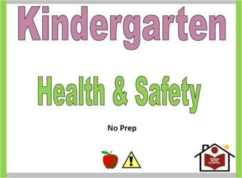 Kindergarten Health and Safety Curriculum - No Prep