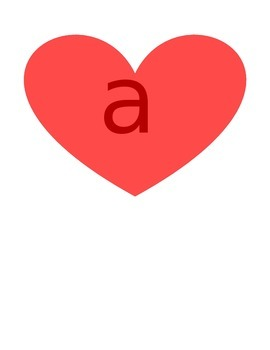 "Kindergarten ""Heart"" Words"