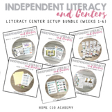 Kindergarten Heroes™ Kindergarten Literacy Center Setup Bu
