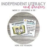 Kindergarten Heroes™ Kindergarten Literacy Centers (Week 2)