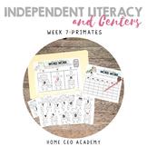 Kindergarten Heroes™ Kindergarten Literacy Centers (Week 7)
