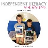 Kindergarten Heroes™ Kindergarten Literacy Centers (Week 8)