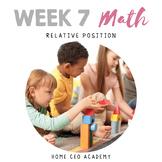 Kindergarten Heroes™ Kindergarten MATH (Week 7)