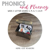 Kindergarten Heroes™ Kindergarten Phonics & Fluency Curriculum (Week 2)