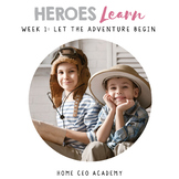 Kindergarten Heroes™ Kindergarten Social Emotional Learning Curriculum (Week 1)