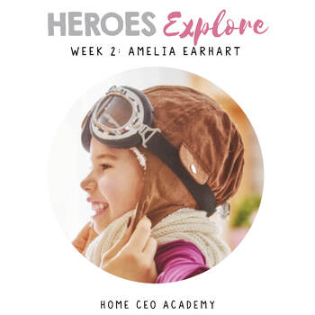 SEL Lessons for Character Education (Week 2 - Explore) - Amelia Earhart