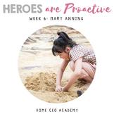 SEL Lessons for Character Education  (Week 6 - Being Proac