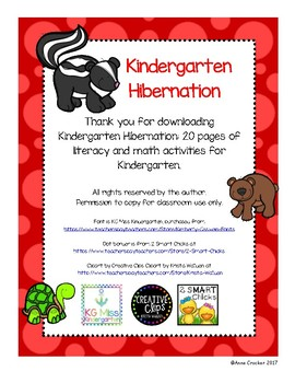 Kindergarten Hibernation