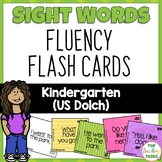 Kindergarten Sight Word Flash Cards Dolch