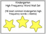 Kindergarten High Frequency Word Wall Set