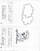 Kindergarten High Frequency Words Books #11-14 (Read, Trace, and Color)