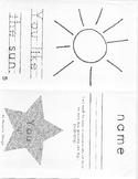 Set A- Kindergarten High Frequency Words Books #11-14 (Rea
