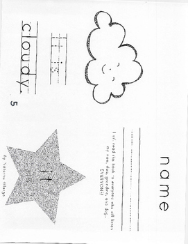 Kindergarten High Frequency Words Books #15-18 (Read, Trac
