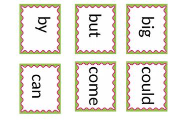 Kindergarten High Frequency Words/ Sight Words
