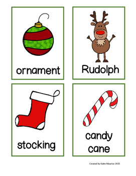 Kindergarten Holiday Activities Packet and Write the Room