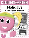 Kindergarten Holidays Curriculum Bundle (Worksheets, Activities, + EXTRAS)