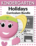 Kindergarten Holidays Curriculum Bundle (Worksheets, Activities, + EXTRAS)