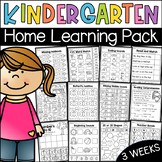 Kindergarten Home Learning Pack - Distance Learning