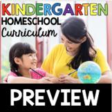 Kindergarten Homeschool Curriculum FREE PREVIEW - What is