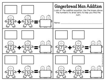 Kindergarten Homework- December (English Only) Aligned to CC