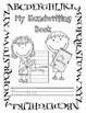 Kindergarten Homework: Handwriting Practice & Beginning Letter Sounds Printables
