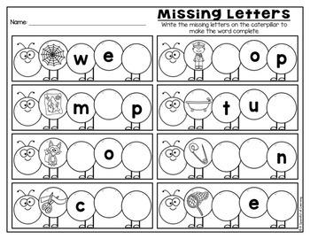 Kindergarten Homework- June (English & Spanish Directions) Aligned to CC