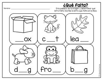 Kindergarten Homework- November (English & Spanish Directions) Aligned to CC