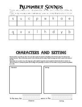 Kindergarten Homework Packet 4