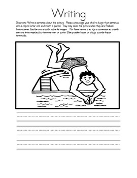 Kindergarten Homework Packet 9