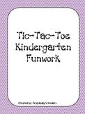 Kindergarten Homework Packet April