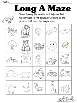 Kindergarten Homework Packet March #2