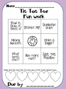 Kindergarten Homework Packet-May#2