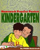 Kindergarten Homework Posters