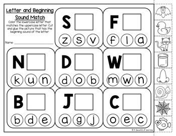 Kindergarten Homework- September (English Only) Aligned to CC
