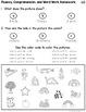 Kindergarten Differentiated Weekly Homework Booklets {CC Aligned for ELA/Math}