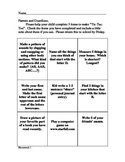 Kindergarten Homework -Weeks 1 - 10