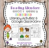 McGraw Hill Wonders Reading for Kindergarten Activities Unit 7 week 3