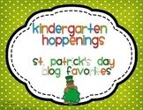 Kindergarten Hoppenings {St. Patrick's Day Blog Favorites}