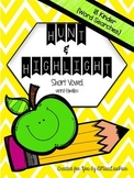 | Short Vowel Hunt & Highlight | [word family word searches]