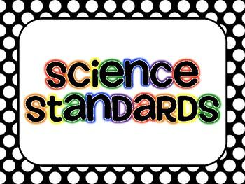 Kindergarten I CAN STATEMENTS Standards- OHIO Science/Social Studies