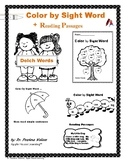 Color by Sight Word,  Guided Reading Passages & Sight Word Sentences