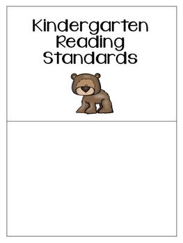 Kindergarten I Can Statements