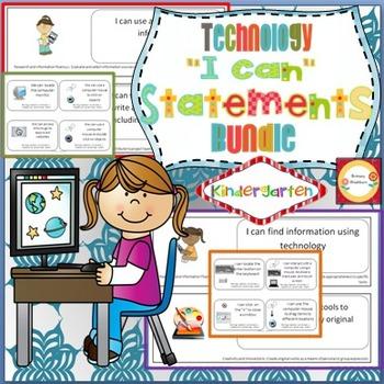 I Can Statements Kindergarten