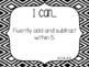 "Kindergarten ""I Can"" Statements Bundle: All Standards - B&W"