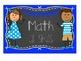 Kindergarten I Can Statements - Chalk and Kid Theme