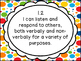 Kindergarten I Can Statements For The Entire Program - Ont