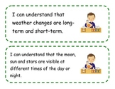 Kindergarten I Can Statements for Ohio's Revised Science Standards