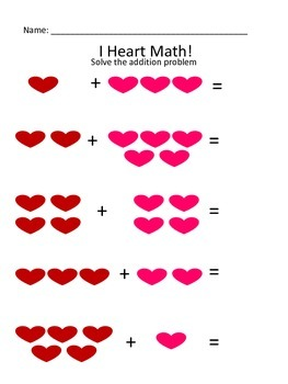 Kindergarten I Heart Math!